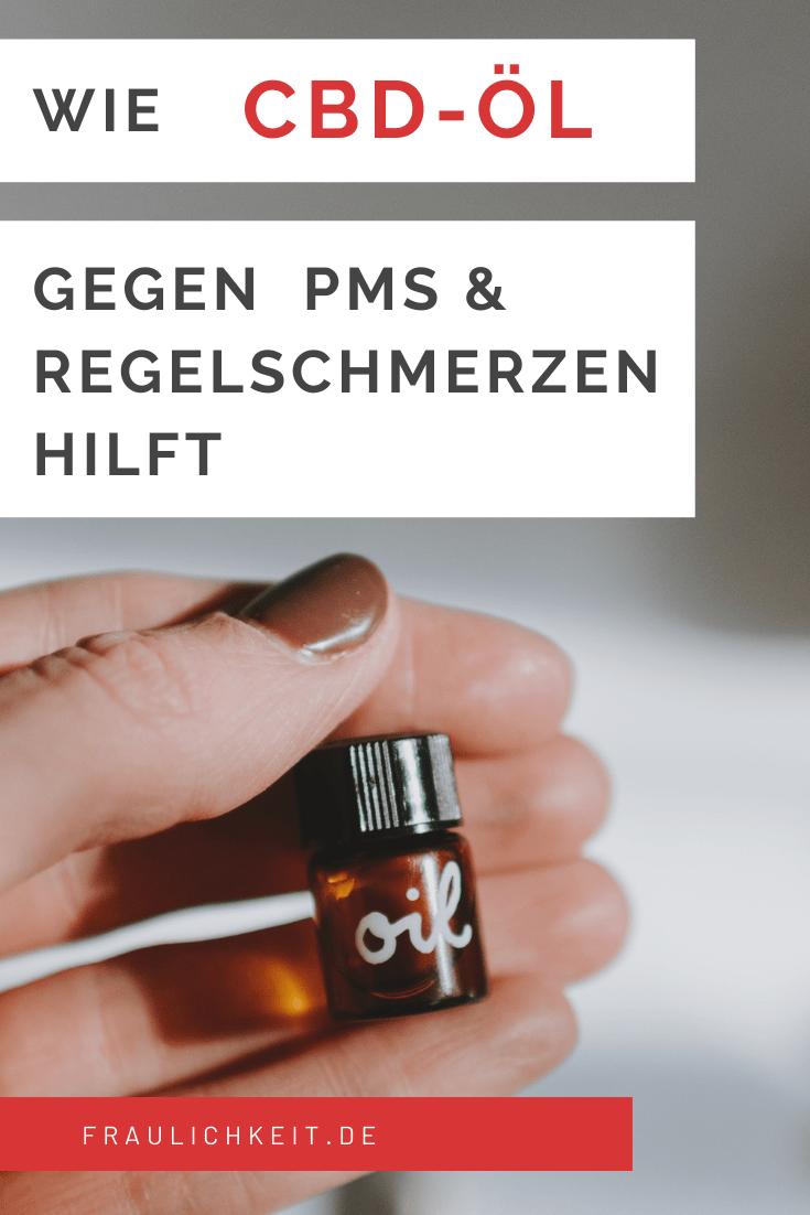 Pinterest Fraulichkeit Pin Meine Erfahrung mit CBD Öl: Anwendung, Wirkung und Nebenwirkungen bei PMS, Regelschmerzen & Krämpfen
