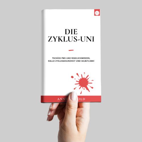 Fraulichkeit Zyklus-Uni Buch PMS und Regelschmerzen ade Zyklusgesundheit
