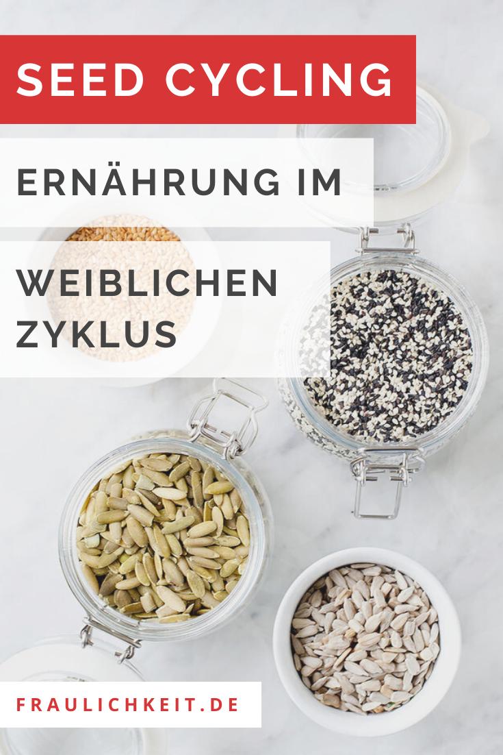 Seed Cycling - Ernährung weiblicher Zyklus