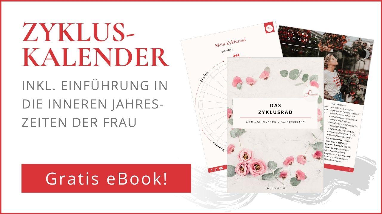 Zyklusrad Zykluskalender Kostenlos eBook Fraulichkeit Anne Lippold Coaching Zyklusachtsamkeit Menstruationsbeschwerden PMS Stimmungsschwankungen Cycle Syncing