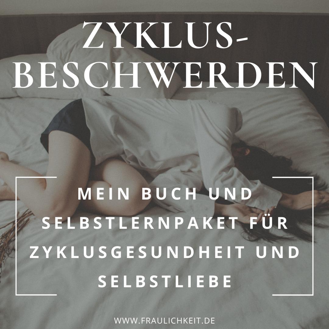 Buch Regelschmerzen PMS Cycle Syncing weiblicher Zyklus Anne Lippold Fraulichkeit