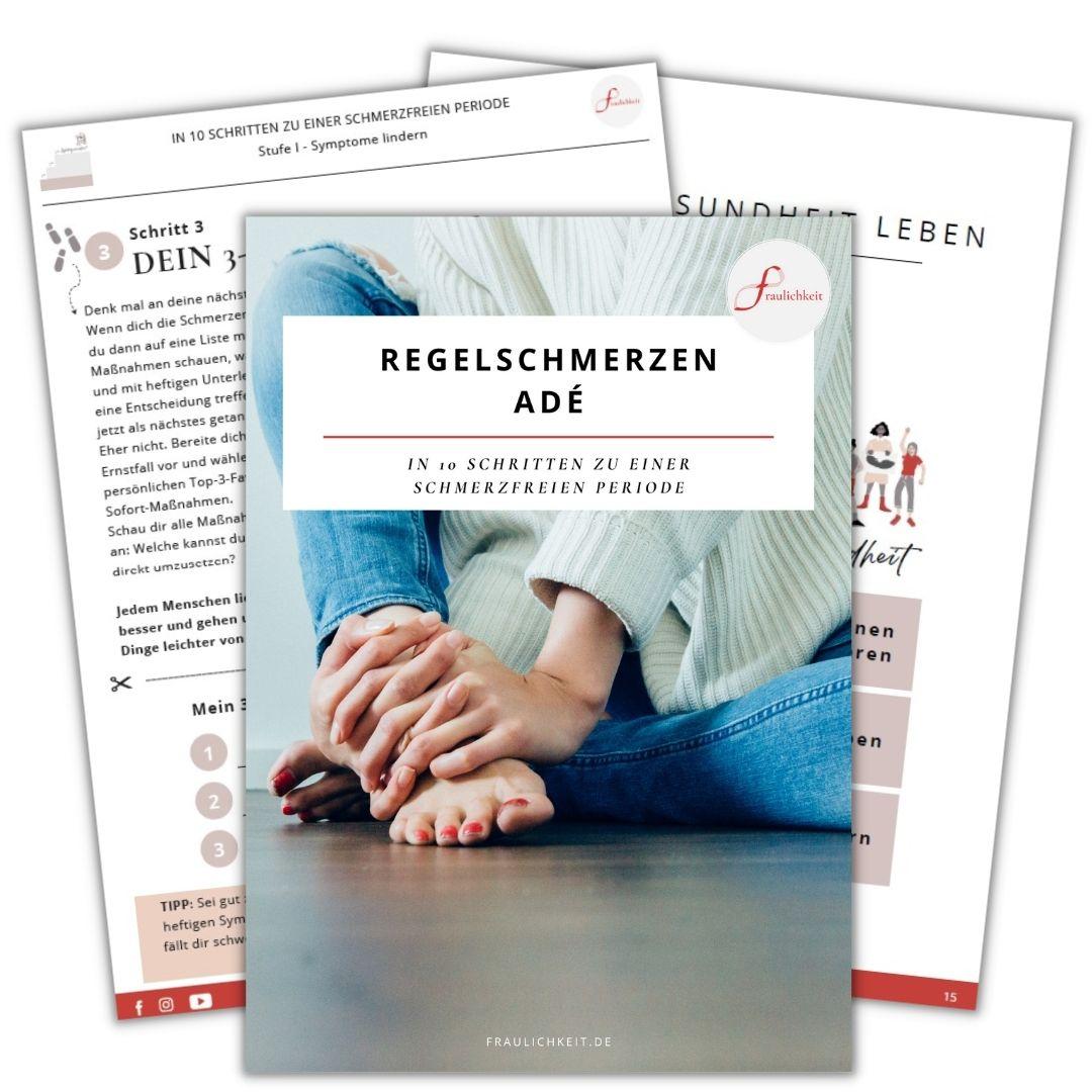 Regelschmerzen lindern eBook In 10 Schritten zu einer schmerzfreien Periode Anne Lippold Fraulichkeit
