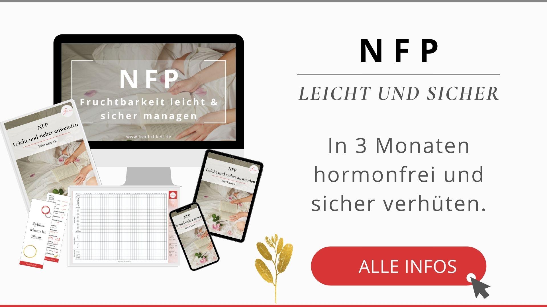 NFP sensiplan onlinekurs online lernen beratung hormonfrei verhüten